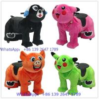 China Token Coins operated zippy animal rides for mall and party on sale