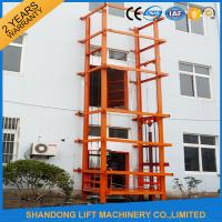1000 kg Warehouse Cargo Hydraulic Lift Table with Anti Slip Safety Device Manufactures