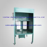 Small Manual Powder Coating Spray Booth Manufactures