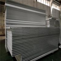 0.326mm corrugated steel sheet eps sandwich panel 5500x1150 for wall Manufactures