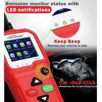 China 2.4 Inches TFT Screen Car Engine Tester Portable Auto Diagnostic Machine KW680 on sale