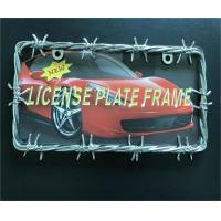 China Car Tag Cover / Car License Plate Frame USA And Canadian Standard Size on sale