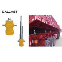 China Telescopic 5 Stage Multi Stage Hydraulic Cylinder  for Side Dumper Truck on sale