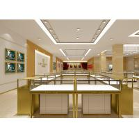 Pre - Assembly Structure Jewelry Display Fixtures 6000 Lumen / 4000 Kelvin Lights Manufactures
