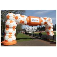 Durable Inflatable Advertising Products / Inflatable Entrance Arch Welcome Gate Race Display Sport Arch Manufactures