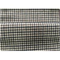 600 G / M Little Tartan Plaid Fabric With 30 Wool 70 Synthetic In Stock Manufactures