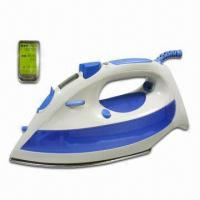 Digital Control and LCD Display Steam Iron with Power of 2,200W Manufactures
