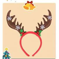 Lovely Christmas Plush Hairband Headband Hairpin For Playing Manufactures