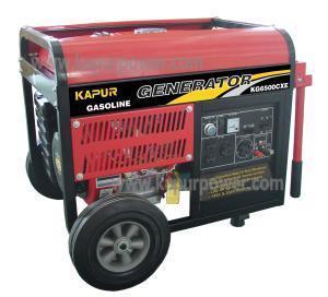 Gasoline Generator KGWY6500CX(E) Manufactures