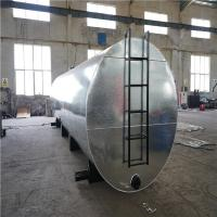 China Steel Plate Bitumen Heating Tank Blue Color 8mm Thickness For Asphalt Plant on sale