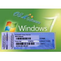 Original Windows 7 Home Premium PC Product Key Good Compatibility Free Swap Manufactures