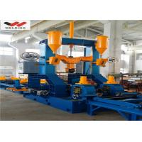 Quality Auto Combination Machine H Beam Welding Line With Assembly / Welding And Straightening for sale