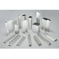 Frosted Fabric Aluminum Window Profiles / Aluminum Glass Door Frame Manufactures