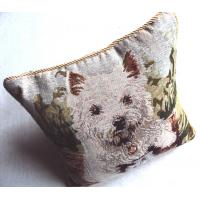 China polyester cotton gobelin dog animals decorative tapestry chair