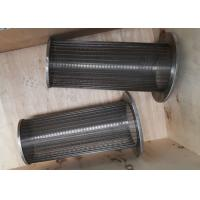 Stainless Steel Wedge Wire Screen Filter Strainer for filtration Manufactures
