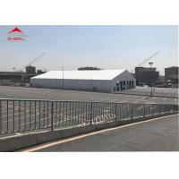 Clear Span 20 M PVC Foof Cover Outdoor Event Tent / Aluminum Frame Garden Party Marquee Manufactures