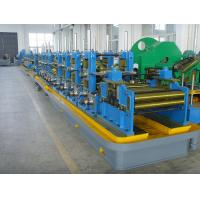 Precision Longitudinal Straight ERW Welded Pipe Mill Line pipe making machine Manufactures