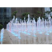 Cast Iron Pump Outdoor Floor Fountains Design With Led Light Manufactures