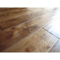 Handscraped Solid Birch Hardwood Flooring Manufactures