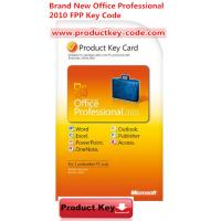 Quality Microsoft Office Product Activation Key For Brand new Office Professional 2010 Product Key FPP 2 PCs for sale