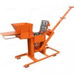 Manual Compressed Earth Block Press Brick Making Machine Single Press 700 Bricks Daily Manufactures