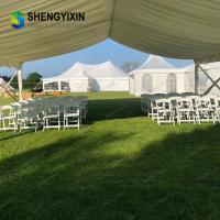 China 20 x 20 big outdoor white pvc wedding commercial party tent A Frame Waterproof Outdoor Canopy Tent for Sale on sale