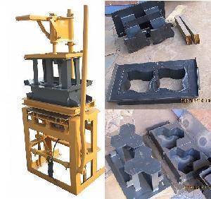 Paver Block Machine for Interlocking Concrete Bricks (BM1-3E)