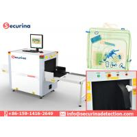 140KV X Ray Baggage Scanner Middle Tunnel Size 60*40cm For Checkpoint Screening Manufactures