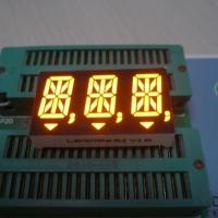 Anode Ultra Amber 14 Segment Alphanumeric Display 14.2mm Cathode Polarity Manufactures