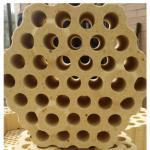 High alumina checker brick for cowper stove Manufactures