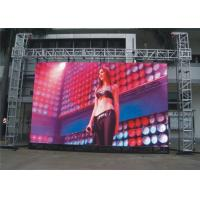 China P3.91 Outdoor Rental LED Display HD Large Led Advertising Screens For Commercial Center Constant Drive 1/16 Scan on sale