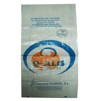 Multi - Functional BOPP Laminated PP Woven Bags , Woven Polypropylene Feed Bags Manufactures