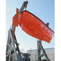 Marine Lifeboat Launching Gravity Luffing Arm Hydraulic Type Davit Manufactures