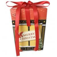 Matte Lamination Candle Christmas Packaging Boxes With Auto Bottom Lock Manufactures