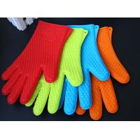Heat Resistant Silicone BBQ Grill Oven Gloves, Silicone BBQ Grill Oven Mitt Manufactures