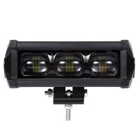 8D 8 Inch Waterproof SUV Led Light Bars With Bracket Led Driving Lamp 30W 2100LM Manufactures