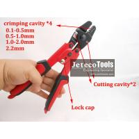 China steel wire rope crimper tool for crimping stainless cable wire ropes with ferrule and fittings on sale