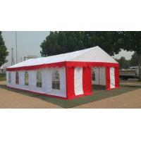 China Marriage Outside Party Tents Good Ventilation With Double PVC Coated Tarpaulin on sale