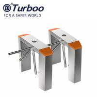 Buy cheap RFID Recognition Tripod Turnstile Gate , 100-240V Tripod Barrier Gate 304 SUS from wholesalers