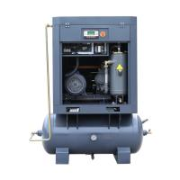 Tank and air dryer mounted rotary screw air compressor Manufactures