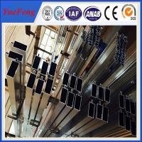 ISO 9001 industrial aluminium profile for glass curtain wall price per kg Manufactures