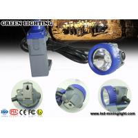 IP68 Waterproof 1.67W Led Cap Lamp Underground Mining light With Li Ion Battery Manufactures