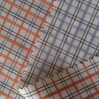 100% Cotton Yarn-dyed Check Fabric with 50 +100/2S Yarn Count, 135 x 98 Density, 57/58 Inches Width Manufactures