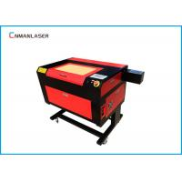 220v 50HZ Fast Speed 6090 Cnc Laser Engraving Cutting Machine For Sticker Labels Manufactures