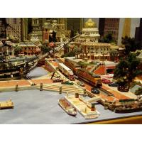 model train layout painted figures Manufactures