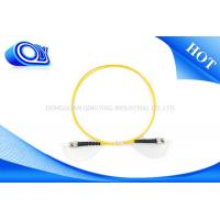 Single Mode SC ST Patch Cord Simplex OM3 Fiber Optic Cable For Local Area Networks Manufactures