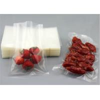 Small Vacuum Clear Plastic Bags With Easy To Tear Mouth Moisture Proof Manufactures