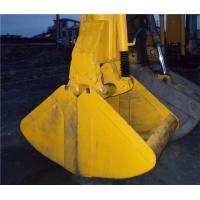 Hydraulic Excavator Clamshell Grab Bucket  for Loading Coal Long Service Life Manufactures
