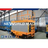 Self Propelled Hydraulic Man Lift For Cleaning Window And Fixing Street Light Manufactures