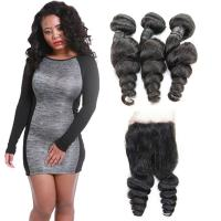 Natural Raw 10 Inch Loose Curly Human Hair Extensions 3 Bundles OEM Service Manufactures